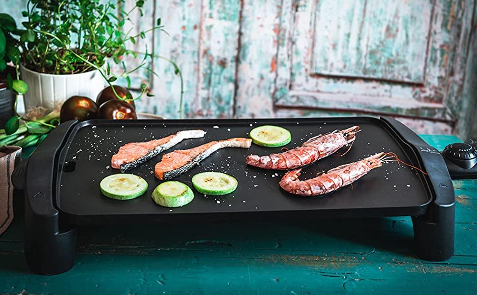 Cocinar a la Plancha electrica Jata.