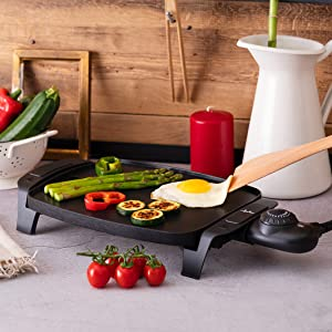 Cocina a la plancha con salud